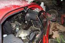 Vážná dopravní nehoda v Blučině.