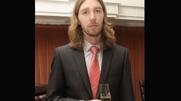 Oceněný student a vědec Josef Maryáš.
