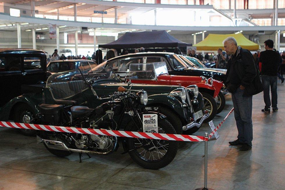 Podzimní Motortechna zavedla návštěvníky do pavilonu Z na brněnském výstavišti.