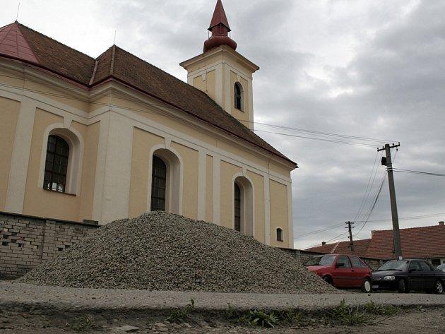 S přispěním evropského fondu pro rozvoj venkova změní Unkovice tvář centra obce.