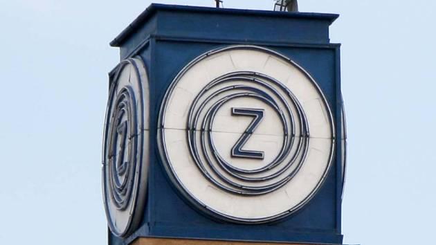 Logo Zbrojovky na továrně v Zábrdovicích