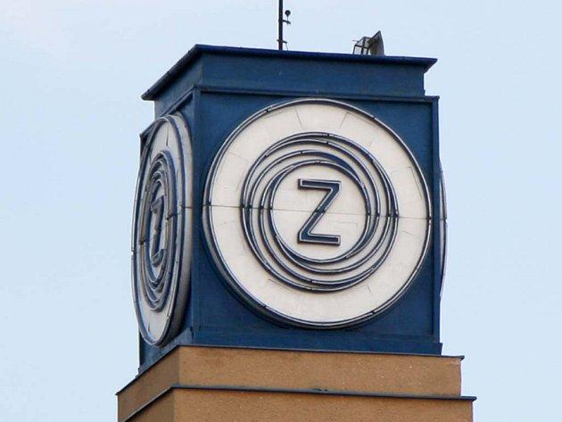 Logo Zbrojovky na továrně vZábrdovicích