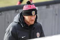 Trenér fotbalistů Zbrojovky Richard Dostálek.