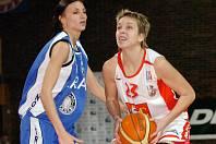 Kateřina Zohnová ještě v dresu Trutnova (vlevo)