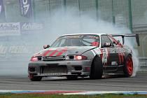 Masarykův okruh uzavřel sezonu finálovým kláním Czech Drift Series, ve které zápolí automobiloví závodníci v řízené jízdě smykem.