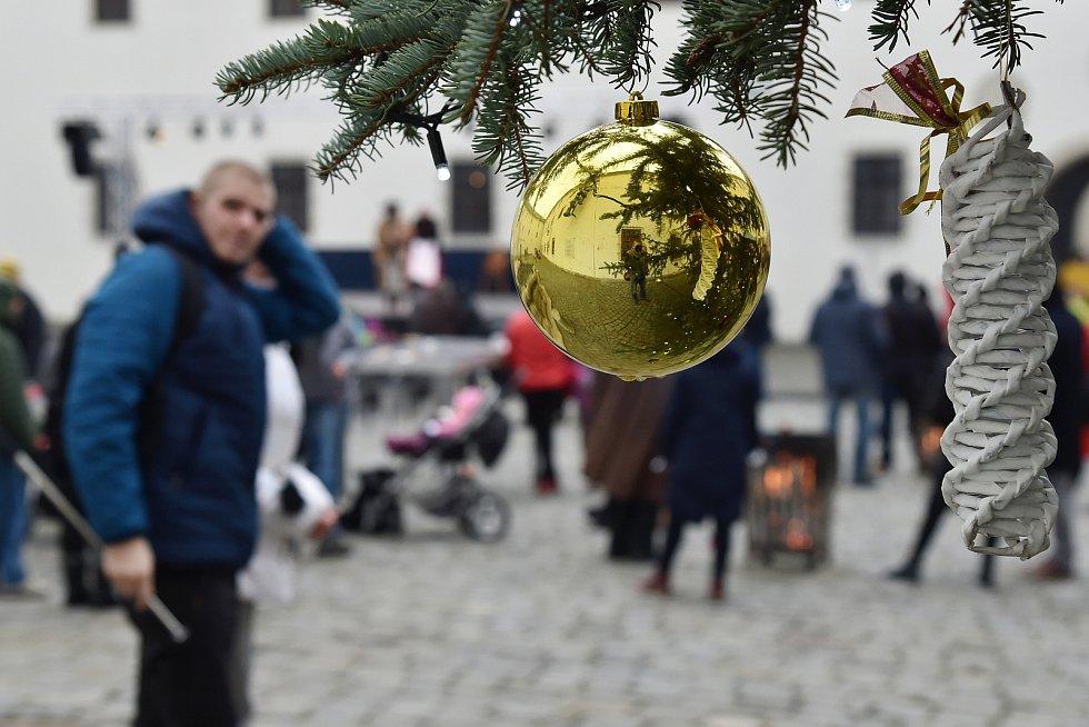 Na brněnském hradě Špilberk v sobotu začaly Hravé Vánoce.