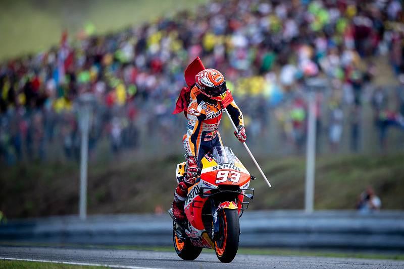 Závod MotoGP Velká cena České republiky, závod mistrovství světa silničních motocyklů v Brně.