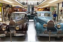 Výstava Žijeme Bugatti v brněnské Vaňkovce.