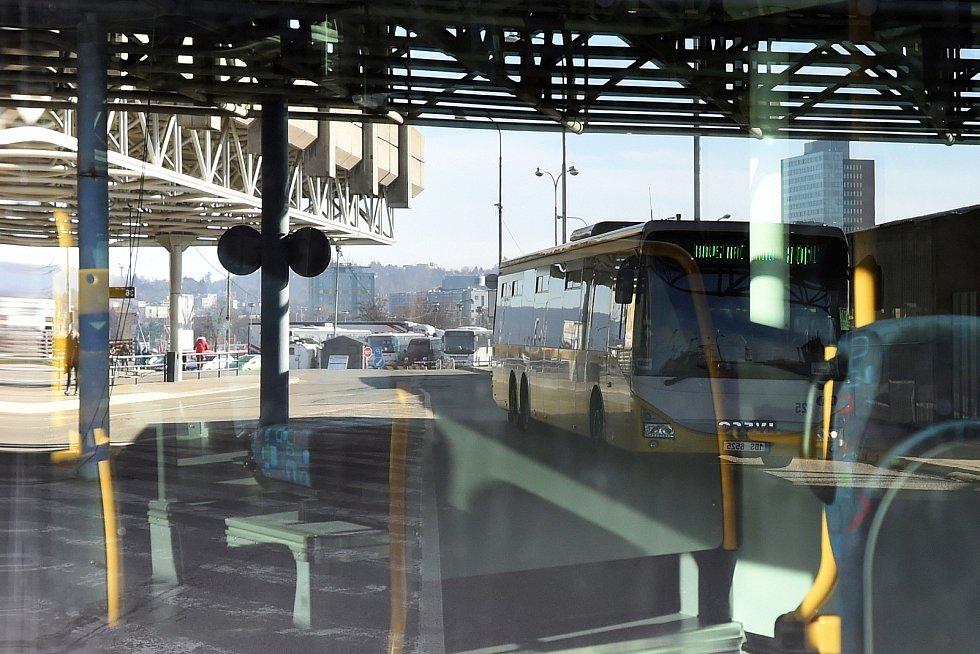 Opravené autobusové nádraží na Zvonařce