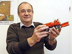Náměstek ředitele jihomoravských silničářů Alois Vybíral.