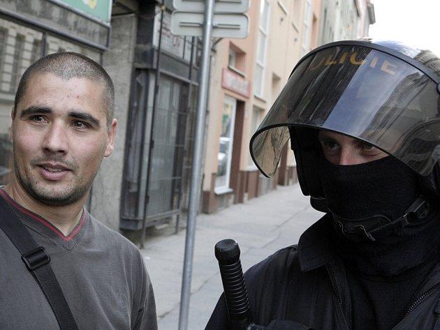Neonacisté ve středu demonstrovali v Brně.