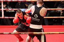 Exhibiční boxerský galavečer v Sono centru.