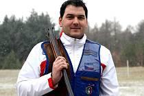 Brokový střelec brněnské Komety Jiří Lipták.