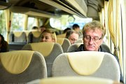 Lídři jihomoravských kandidátek v Deník-busu.