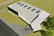 Vedení Kuřimi už má vypracovanou vizualizaci sportovní haly. Cena stavby budovy se pohybuje kolem pětapadesáti milionů korun.