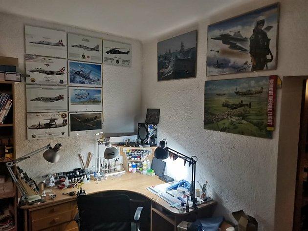 Brněnského modeláře Lukáše Hrubeše létající stroje fascinovaly už od mládí.