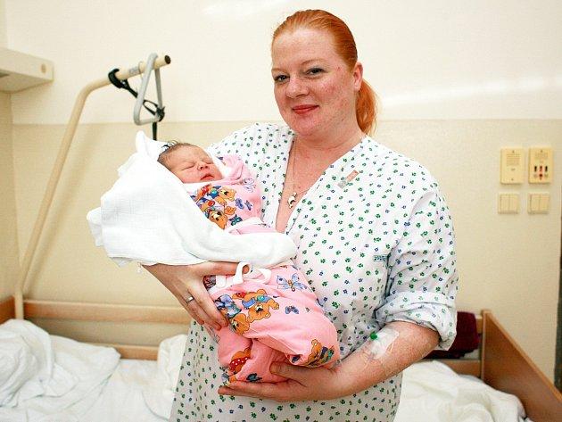 V brněnské nemocnici u Milosrdných bratří se na Nový rok jedenáct minut po půlnoci narodila Emma.