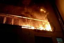 V neděli brzy ráno hořel byt v brněnské Božetěchově ulici. Škoda je šest set tisíc korun.