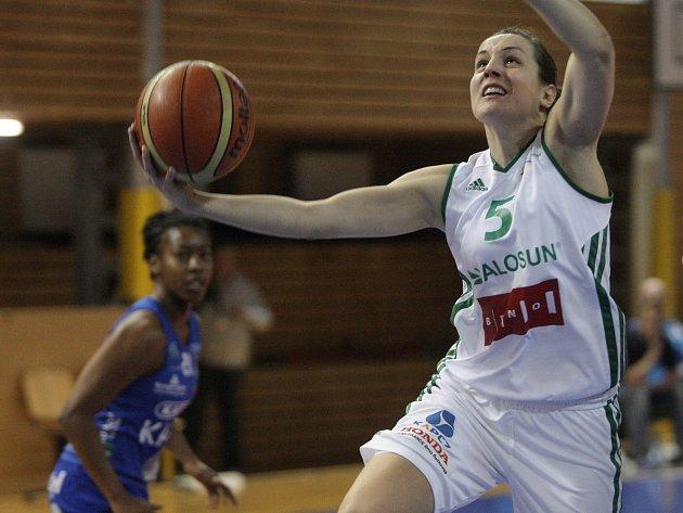 Basketbalistka Veronika Vlková.