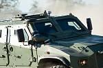 Taktické obrněné vozidlo ATV Zetor Gerlach 4x4 úspěšně absolvovalo certifikační testy protiminové odolnosti.