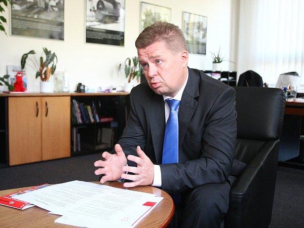 Šéf brněnských tepláren Petr Fajmon.