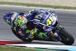 Páteční tréninky na brněnském automotodromu - Valentino Rossi.