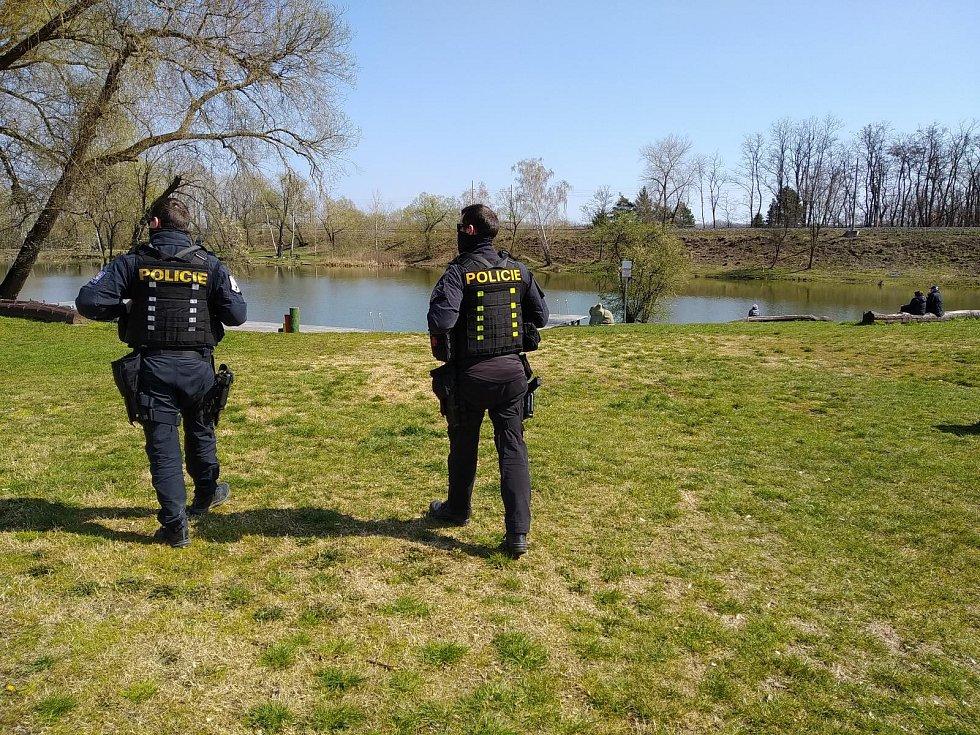 Policisté o víkendu kontrolovali oblíbené jihomoravské turistické cíle. Většinou byly prázdné.