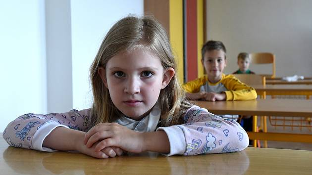 První stupně základních škol tento týden otevřely brány svým žákům.
