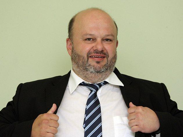 Ministr vnitra Martin Pecina.