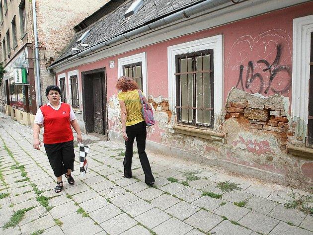 Historický dům v brněnské Staré ulici.