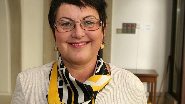 Jednička kandidátky Brno 2010 Jiřina Belcredi.