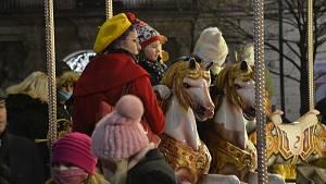 První víkend vánočních trhů roku 2020 v Brně