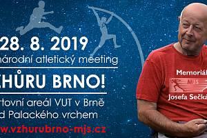 Atletický Memoriál Josefa Sečkáře přivítá Brno na konci srpna.