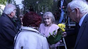 Při výročí osvobození Brna zpívala Eva Pilarová
