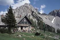 Horská chata v Rakousku. Ilustrační foto.