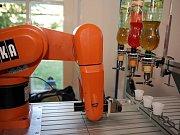 Robotický den v Lužánkách.
