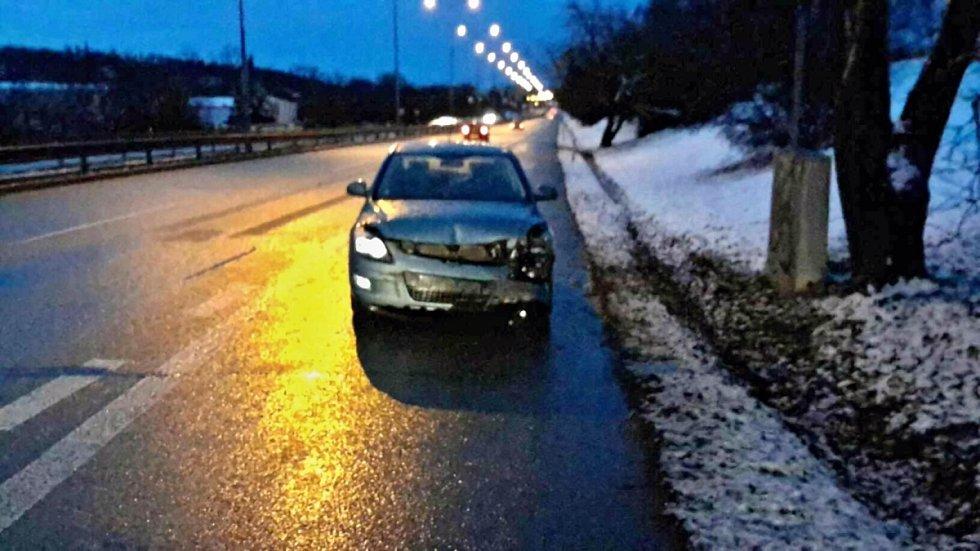 Dopravní nehody v brněnských Řečkovicích.