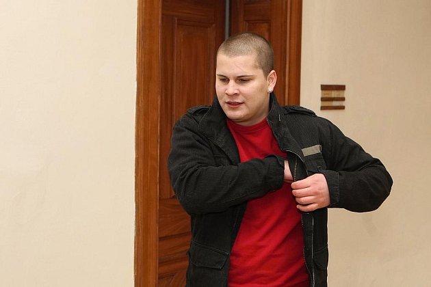 Michal Krayzel před soudem.