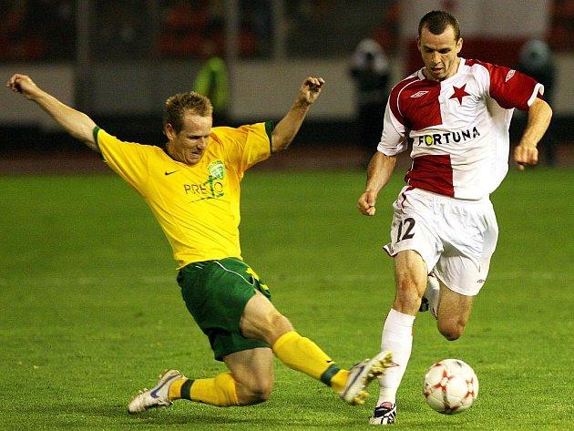 František Dřížďal (vpravo) posílí 1. FC Brno.