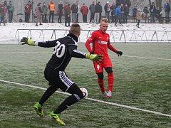 Zimní Tipsport liga. Brněnská Zbrojovka remizovala remizoval se Sigmou Olomouc 3:3.