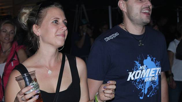 Tradiční akce Den se Starobrnem v areálu brněnského pivovaru Starobrno.