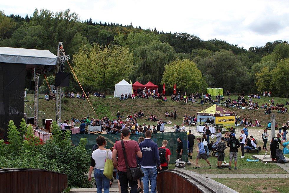 Festival Chillibraní 2017 na brněnské Riviéře.