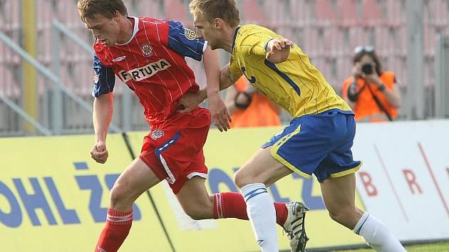 Fotbalisté Zbrojovky Brno - ilustrační fotografie.