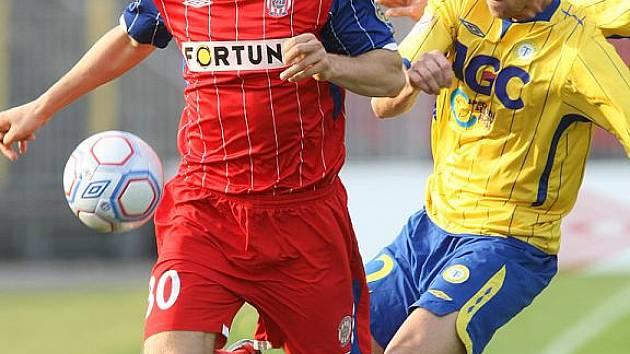 Brněnští fotbalisté podlehli ve 22. kole Gambrinus ligy na domácím hřišti Teplicím 0:1.