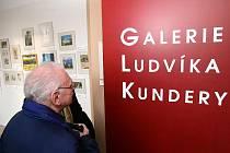 Výstava připomíná 90 let Ludvíka Kundery.