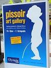 Výstava Pissoir Art Gallery v brněnské Olympii.