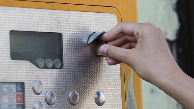 Ilustrační: Ucpané automaty