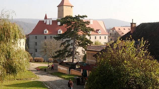 Lidé měli poslední šanci navštívit letos hrad Veveří.