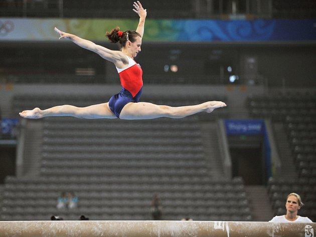Gymnastka Kristýna Pálešová.