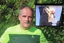 Brněnský rodák Pavel Hlava, který nyní bydlí v Modřicích, jako jediný na světě zaznamenal na jednu pásku teroristický útok na budovy Světového obchodního centra v New Yorku.